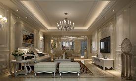 福州盛世豪门 欧式风格三房装修设计效果图