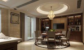 福州兆龙城 中式风格复式装修设计