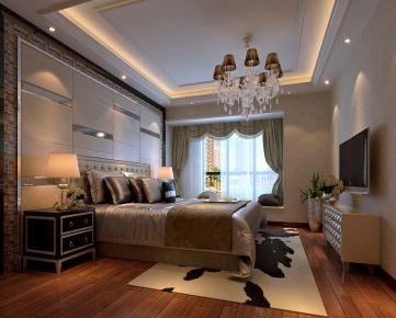保利中央公馆三居室设计效果图罗先生