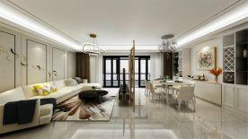 海口保利中央海岸 现代风格三房装修效果图欣赏