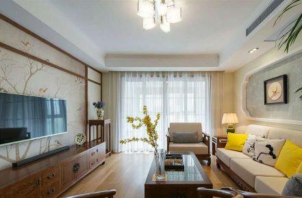 新中式风格三房装修 新中式风格家庭装修效果图