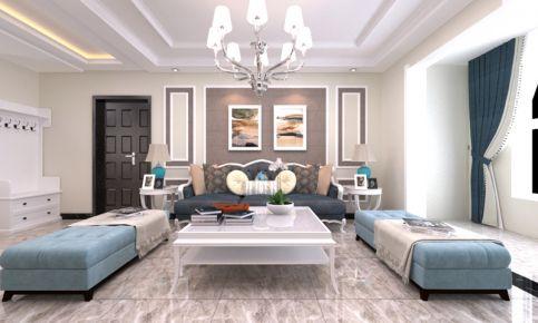 美式风格三房装修设计 美式风格家庭装修效果图