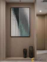 西安|现代简约三居室装修效果图