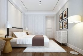西安简约风三居装修效果图 简约风格家庭装修设计
