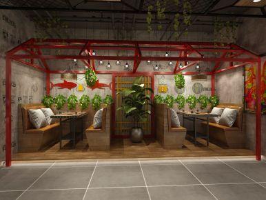 创意混搭风格棠溪展厅设计装修