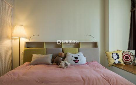 重庆蓝湾半岛三居室|小清新轻奢风格|实景案例图