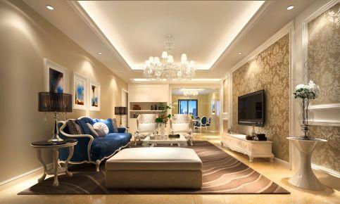 福州星海湾 欧式风格三房装修设计效果图欣赏