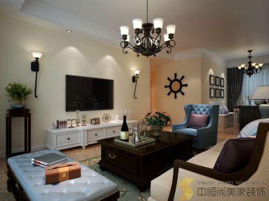 西安|美式风格三居装修效果图欣赏