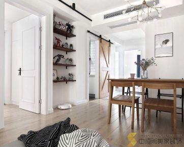 西安|北欧风格|两居室装修效果图