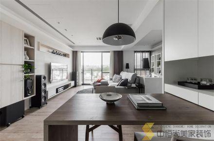 西安|白桦林印象现代两居装修效果图