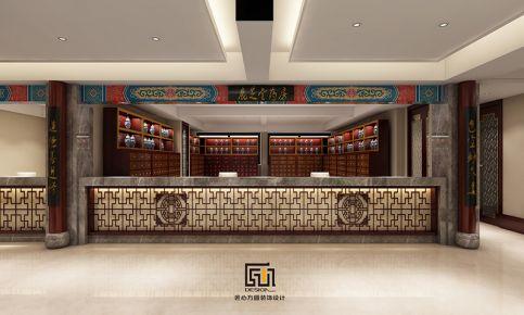 平阳鹿芝堂中医会所装修 中式风格会所装修设计