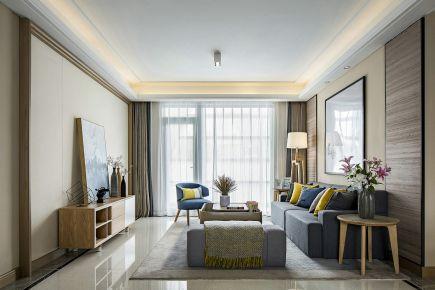 宁波圣汐澜山 现代风格两房装修设计