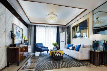 众安山水苑 创意混搭风格家庭装修设计欣赏