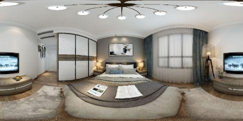 泰禾红誉 现代风格三房装修设计效果图