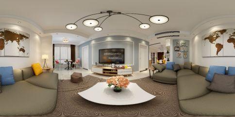 阳光城翡丽湾 欧式风格三房装修设计
