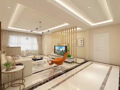 现代简约风格三房装修设计 简约风格家庭装修效果图