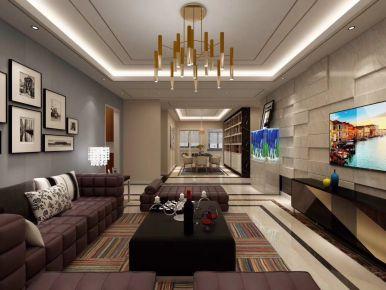 现代轻奢风三房装修设计 现代轻奢家装效果图