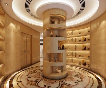 欧式风格三房装修设计 欧式家庭装修效果图欣赏