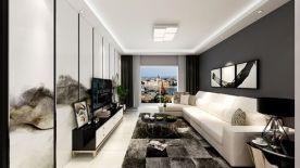 无限空间 田园风格两居室装修效果图