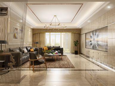 金色丰收-美式风格四房装修设计效果图