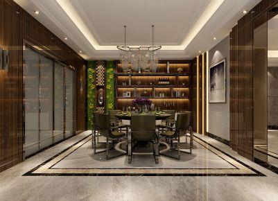 龙悦湾135平户型 现代风格三房装修设计效果图