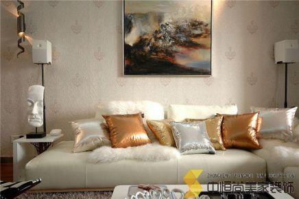 西安|三居室轻奢现代混搭装修效果图