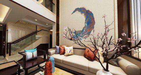 新中式风格别墅装修设计 新中式别墅装修效果图欣赏