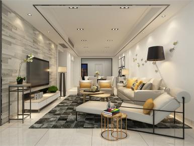 简约北欧风三房装修 北欧风格家庭装修效果图