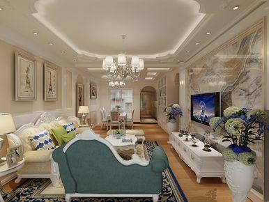花果园案例效果图 现代风家庭装修设计