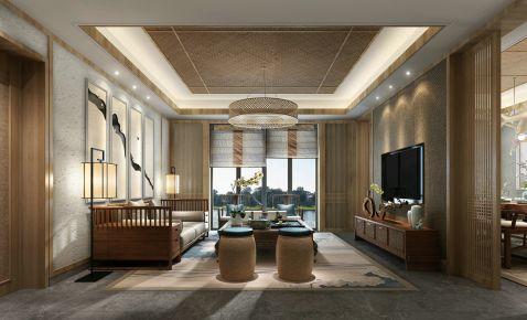 赞成赞城130平户型 中式风格三房装修设计