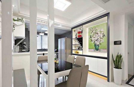 中房·馨美域米现代简约三房装修设计