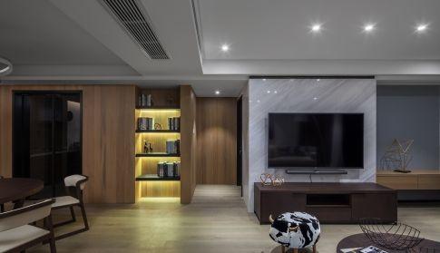 华润橡树湾 现代风格三房装修设计