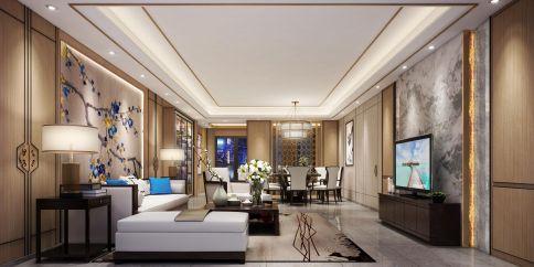 中骏天峰 中式风格四房装修设计效果图