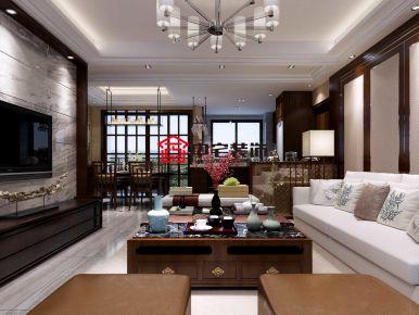 中式风格家庭装修设计 中式风格三房装修效果图
