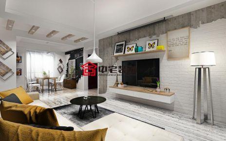北欧风格家庭装修设计 北欧风格两房装修效果图