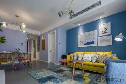 西安|地中海风格三居室装修效果图