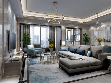 皇庭首占一号 现代风格三房装修设计