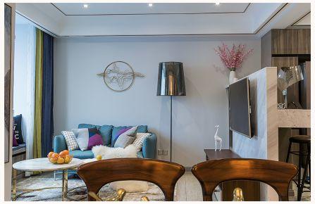 时尚现代双层景观房装修 三居室现代风格装修设计