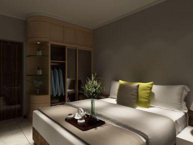 海泉港中旅公馆装修 简约风格三房装修设计