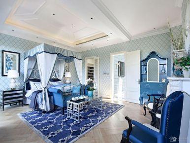 青岛仁和豪庭 地中海风格三房装修效果图欣赏