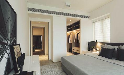 罗马都市美泉宫 现代风格四房装修设计