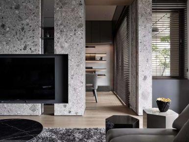 新中式是江南春城装修 中式风格四房装修设计
