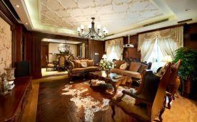 美式风格三房装修案例 美式风格家庭装修效果图