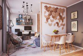润泽公馆 创意混搭风格三房装修设计