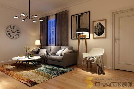 西安|两居室简约风格装修效果图