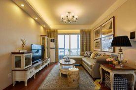 西安|简美风格三居室装修效果图