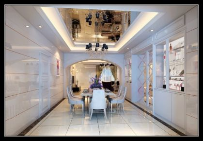石狮凤凰城 现代风格三房装修设计效果图