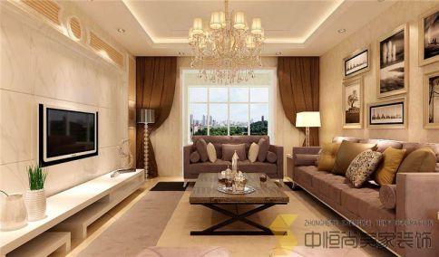 西安|陆港金海岸三居室装修效果图