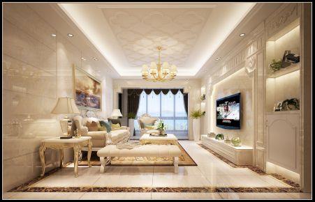 石狮市金域华府 欧式风格三房装修设计效果图