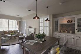 西安|美式风格三居室装修效果图